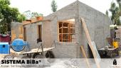 Vivienda resiliente con prefabricados de bambú
